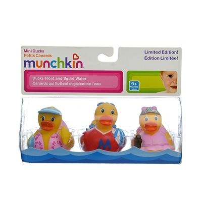 Hình ảnh vỏ hộp bộ Munchkin Bộ 3 vịt bé gái