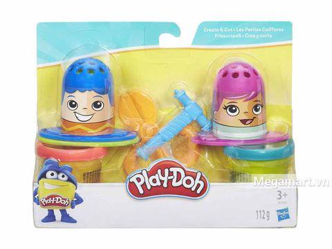Ảnh bìa sản phẩm Play-Doh B3424 - Dụng cụ làm tóc mini