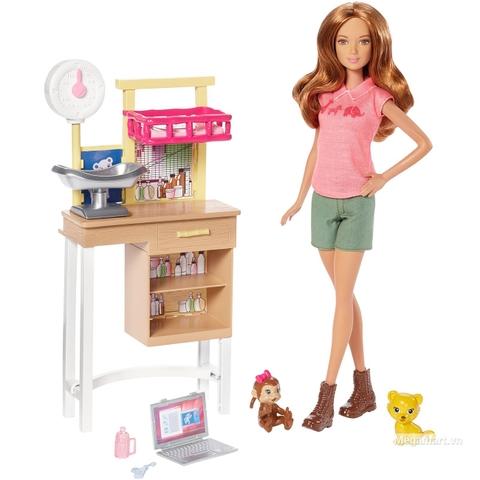 Barbie Bác sĩ sở thú - Các chi tiết có trong bộ sản phẩm