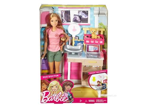 Barbie Bác sĩ sở thú - Vỏ hộp sản phẩm