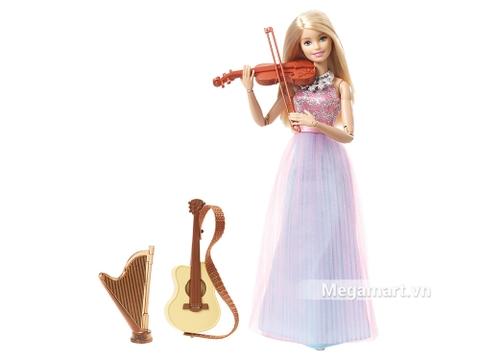 Barbie búp bê violin với 3 nhạc cụ tuyệt đẹp