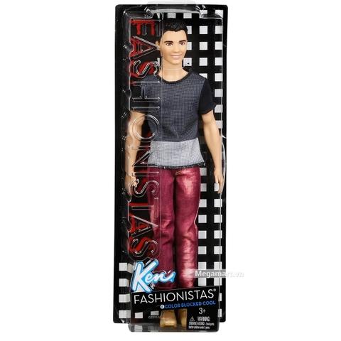 Barbie Fashionistas Ken - Ryan trang phục phối màu - Hình ảnh vỏ hộp