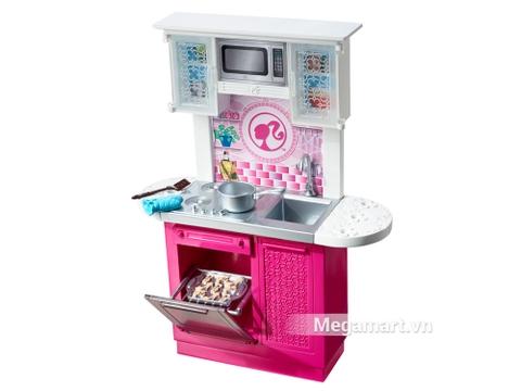 Barbie Ngôi nhà Barbie - Nhà bếp gồm nhiều món đồ thú vị sưu tập cho bé gái