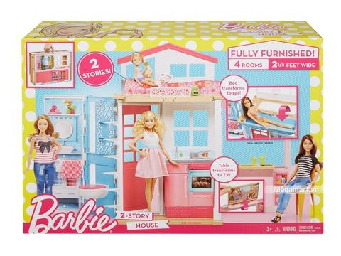Barbie Ngôi nhà nhỏ của Barbie Vỏ hộp sản phẩm