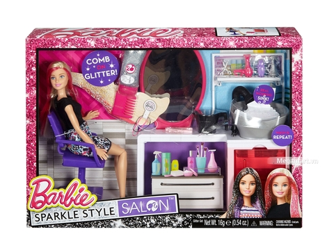 Barbie Salon thời trang tóc - Vỏ hộp sản phẩm