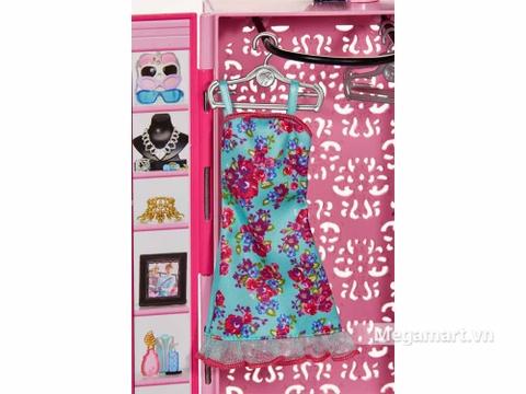 Barbie Tủ quần áo thời trang - thời trang sành điệu