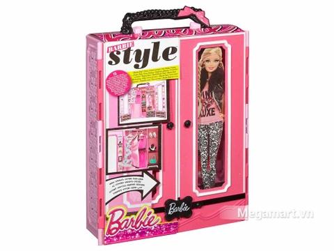Barbie Tủ quần áo thời trang - ảnh bìa sản phẩm