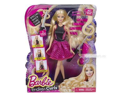 Barbie Búp bê tạo kiểu tóc - Hình ảnh vỏ hộp