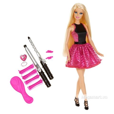 Barbie Búp bê tạo kiểu tóc - Các chi tiết của bộ đồ chơi