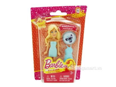 Barbie búp bê tí hon - trang phục váy xanh