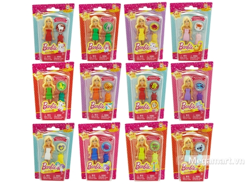Barbie búp bê tí hon - Hình ảnh vỏ hộp sản phẩm