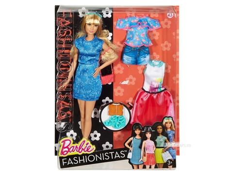 Barbie Fashionistas - Lacey thời trang và phụ kiện với vỏ hộp và đóng gói chắc chắn