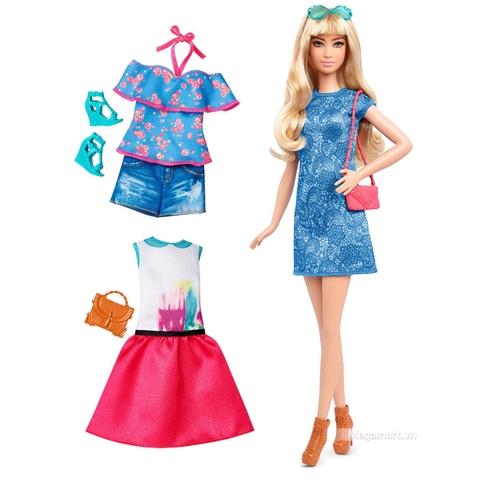 Barbie Fashionistas - Lacey thời trang và phụ kiện gồm nhiều chi tiết đẹp