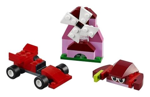 Các mô hình ấn tượng trong bộ Lego Classic 10707 - Hộp lắp ráp màu đỏ