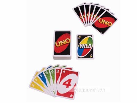 Mattel Games Bài Uno - các cây bài sặc sỡ