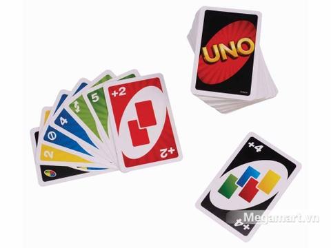 Mattel Games Bài Uno - những quân bài đặc biệt