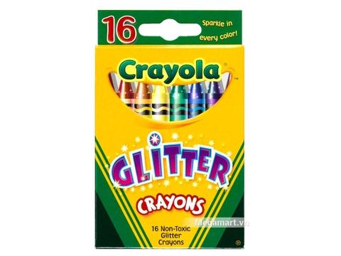 Thiết kế ấn tượng của Crayola Bút sáp kim tuyến 16 màu