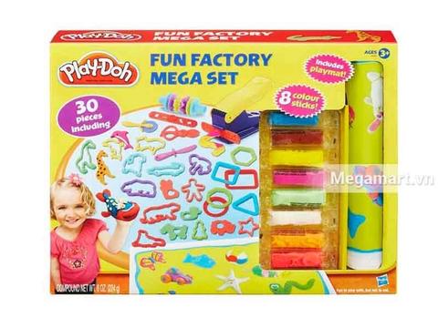 Play-Doh B3087 - Khuôn tạo hình ngộ nghĩnh - Hình ảnh vỏ hộp