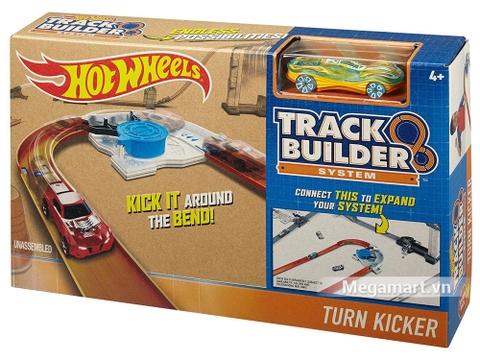 Vỏ hộp thiết kế đẹp mắt của Hot Wheels Phụ kiện đường đua - Đường cua