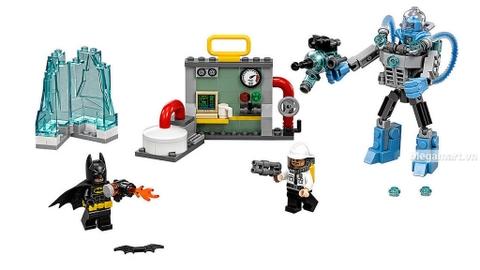 Các mô hình ấn tượng trong bộ Lego Batman Movie 70901 - Người băng Mr. Freeze tấn công