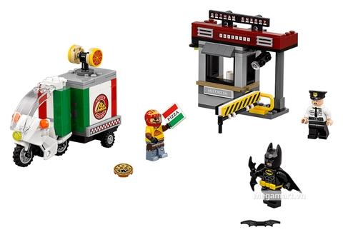 Các mô hình ấn tượng trong bộ Lego Batman Movie 70910 - Chuyến hàng đặc biệt của tên bù nhìn
