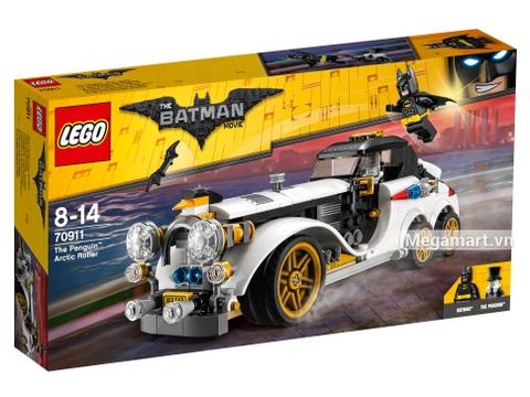 Hình ảnh vỏ hộp bộ Lego Batman Movie 70911 - Xe Limo của Penguin