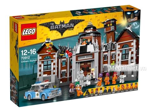 Hình ảnh vỏ hộp bộ Lego Batman Movie 70912 - Bệnh viện thần kinh Arkham Asylum
