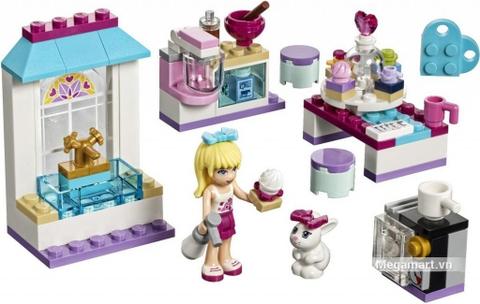 Các mô hình ấn tượng trong bộ Lego Friends 41308 - Tiệm bánh kem tình bạn của Stephanie