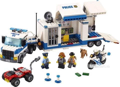 Các mô hình ấn tượng trong bộ Lego City 60139 - Trung tâm chỉ huy cơ động