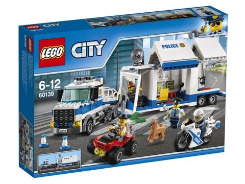 Hình ảnh vỏ hộp bộ Lego City 60139 - Trung tâm chỉ huy cơ động