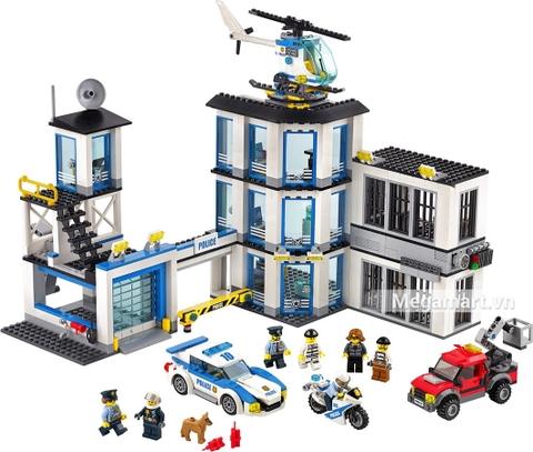 Các mô hình ấn tượng trong bộ Lego City 60141 - Trạm cảnh sát