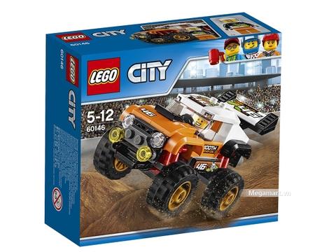 Hình ảnh vỏ hộp bộ Lego City 60146 - Xe bốn bánh biểu diễn
