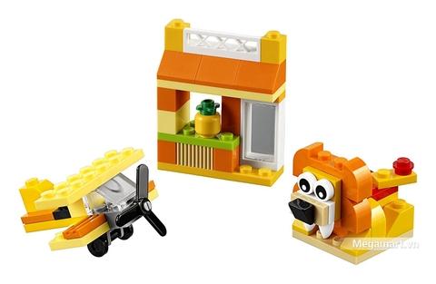 Mô hình ấn tượng của Lego Classic 10709 - Hộp lắp ráp màu cam