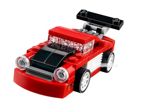 Các mô hình ấn tượng trong bộ Lego Creator 31055 - Xe đua đỏ mini