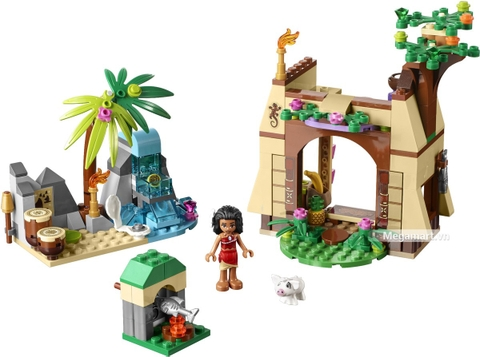 Các mô hình ấn tượng trong bộ Lego Disney Princess 41149 - Cuộc phiêu lưu trên đảo của Moana