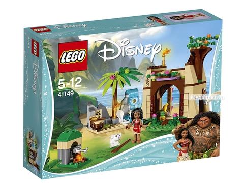Hình ảnh vỏ hộp bộ Lego Disney Princess 41149 - Cuộc phiêu lưu trên đảo của Moana