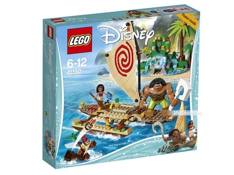 Hình ảnh vỏ hộp bộ Lego Disney Princess 41150 - Hành trình khám phá đại dương của Moana