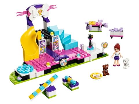 Các mô hình ấn tượng trong bộ Lego Friends 41300 - Giải vô địch cún cưng
