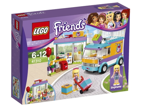 Hình ảnh vỏ hộp bộ Lego Friends 41310 - Dịch vụ giao hàng quà tặng Heartlake