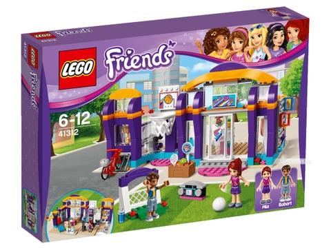 Lego Friends 41312 - Trung tâm thể thao Heartlake - Hình ảnh vỏ hộp sản phẩm