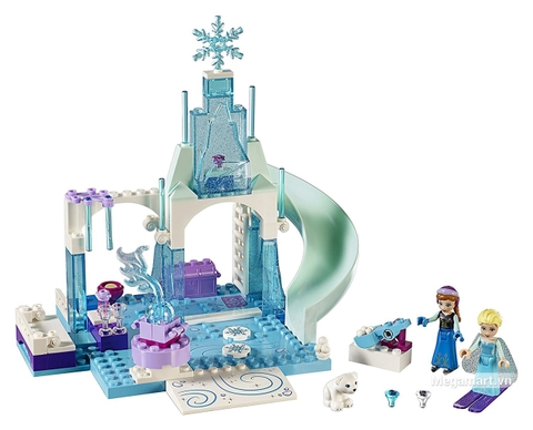 Các mô hình của bộ Lego Juniors 10736 - Lâu đài băng giá của Elsa