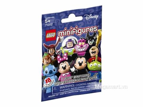 Hình ảnh vỏ ngoài của Lego Minifigures 71012 - Nhân vật Disney