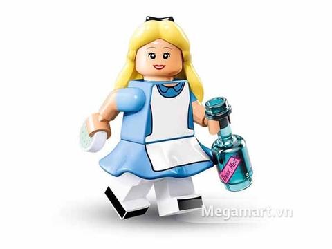 Alice đáng yêu được mô phỏng bằng mô hình lego