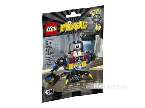Hình ảnh vỏ hộp bộ Lego Mixels 41580 - Biên tập viên Myke