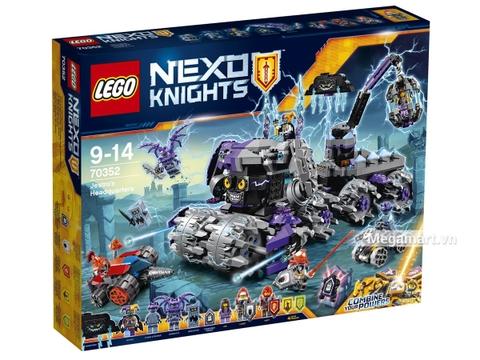 Hình ảnh vỏ hộp Lego Nexo Knights 70352 - Tổng hành dinh của Jestro