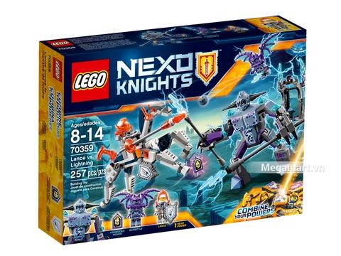 Hình ảnh vỏ hộp bộ Lego Nexo Knights 70348 - Trường thương đấu của Lance