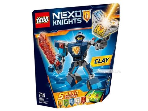 Lego Nexo Knights 70362 - Chiến Giáp Clay giá rẻ