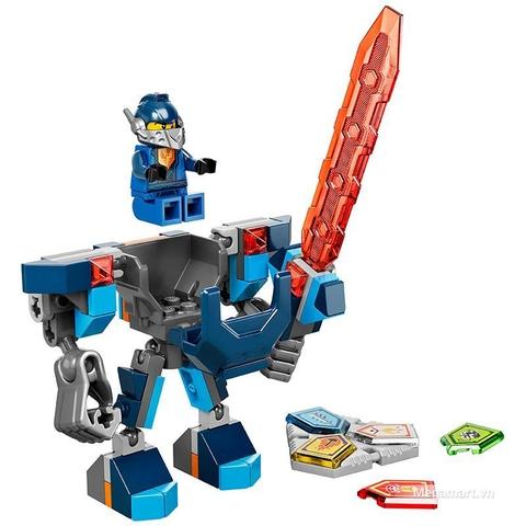 Lego Nexo Knights 70362 - Chiến Giáp Clay sức mạnh vượt bậc