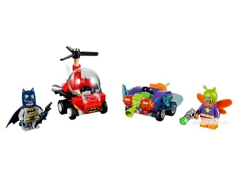 Các mô hình ấn tượng trong bộ Lego Super Heroes 76069 - Người dơi đại chiến Killer Moth