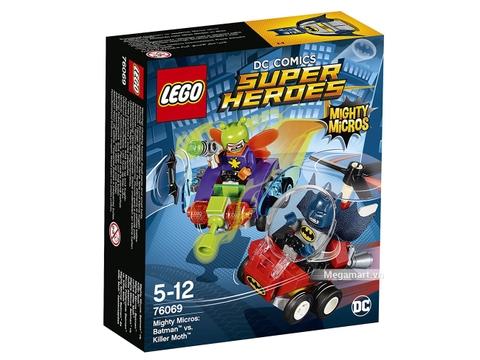 Hình ảnh vỏ hộp bộ Lego Super Heroes 76069 - Người dơi đại chiến Killer Moth